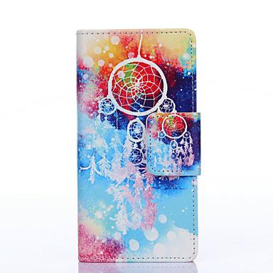 Voor Samsung Galaxy hoesje Hoesje cover Kaarthouder Portemonnee met standaard Flip Patroon Volledige behuizing hoesje Dromenvanger PU-leer