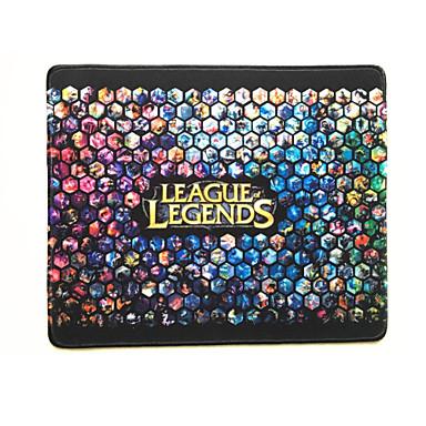 gaming gamer lol league van de legende alle grote held tonen muismat hoge gevoeligheid waterdicht (32 * 24 * 0.4cm)