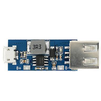 3.7V lithium batterij oplader boord laden / boost converter / bescherming drie in één module