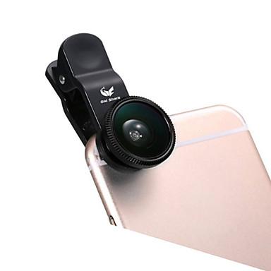 ABS Lente Olho de Peixe Lente Ângulo Largo 10X ou Maior 180 Universal iPad Note 4 Note 2 iPhone 5 iPhone 6