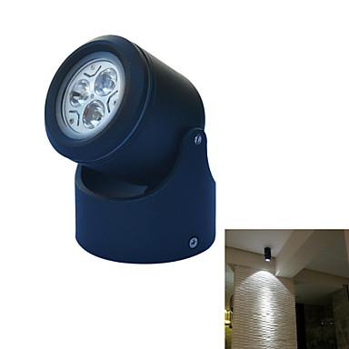 3W 240-300lm GU10 Φώτα Πάγκου Κουζίνας Ηλιακά Φωτιστικά Χελώνες Φώς τοίχου Φώτα εικόνα Κήπος Φώτα 3 LED χάντρες Ανοιχτό μπράτσο Εύκολη