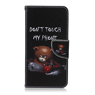 Case For Samsung Galaxy Samsung Galaxy Case Card Holder Wallet with Stand Flip Full Body Cases Cartoon PU Leather for S6 edge plus S6