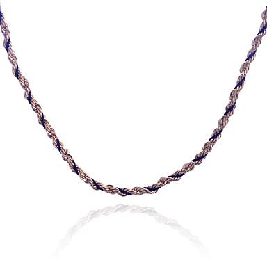 Κοσμήματα Κολιέ με Αλυσίδα Πάρτι / Καθημερινά / Causal Κράμα 1pc Γυναικεία Δώρα Γάμου