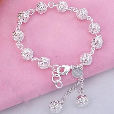 Dames Bangles - Sterling zilver Armbanden Zilver Voor Kerstcadeaus / Dagelijks / Causaal