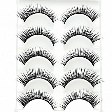 Augenwimpern Falsche Wimpern 10 pcs Voluminisierung Faser Alltag Dick Natürlich lang - Bilden Alltag Make-up Kosmetikum Pflegezubehör