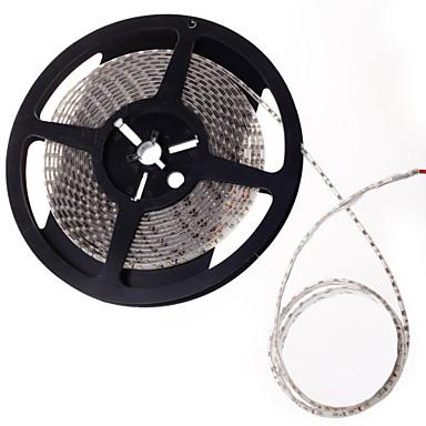 led strip light-emitting diode 600x3528smd waterproof wit licht DC12V 5m