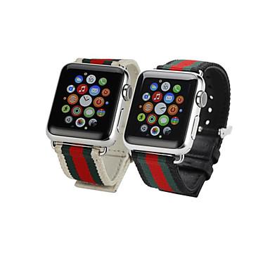 Pulseiras de Relógio para Apple Watch Series 3 / 2 / 1 Apple Tira de Pulso Fecho Clássico Tecido