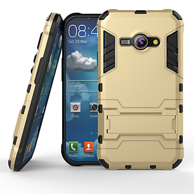 super προστασία 3 in1 TPU + PC + σταθεί θήκη για το Samsung Galaxy J1 άσος χτυπήματα πίσω κάλυψη περίπτωσης