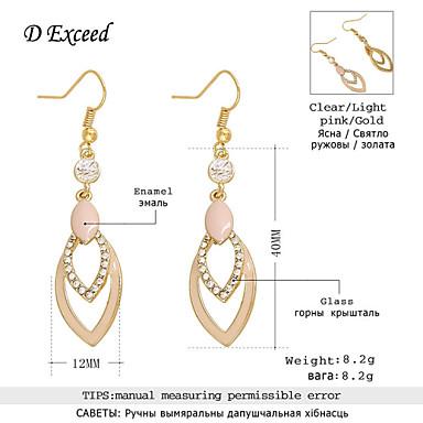Σκουλαρίκι Κρεμαστά Σκουλαρίκια Κοσμήματα 2pcs Γάμου / Πάρτι / Καθημερινά / Causal Κράμα / Ακρυλικό / Ρητίνη / Επιχρυσωμένο Γυναικεία