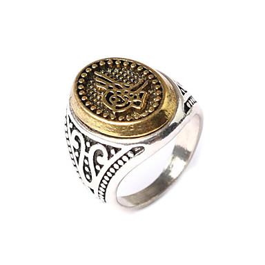 Mulheres Maxi anel Fashion Prata Chapeada Jóias Festa
