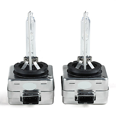 LORCOO 2pcs D1S / C Light Bulbs 35W 800lm Halogen Daytime Running Light For universal All Models All years