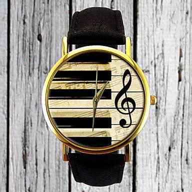 Dames Modieus horloge Polshorloge Kwarts / PU Band Vintage Informeel Zwart