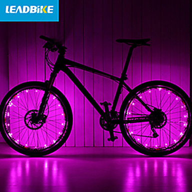 cheap Bike Lights-LED Bike Light Wheel Lights Cycling Waterproof Rechargeable Multiple Modes 18650 Battery Cycling / Bike