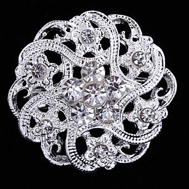 Dames Broches Modieus Kristal Legering Sieraden Voor Bruiloft Feest Speciale gelegenheden  Verjaardag Lahja Dagelijks Causaal