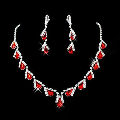 Ruby Sintético Fofo Festa Pedraria & Cristal Pedras preciosas sintéticas Zircônia Cubica Prata Chapeada Imitações de Diamante Liga Caído