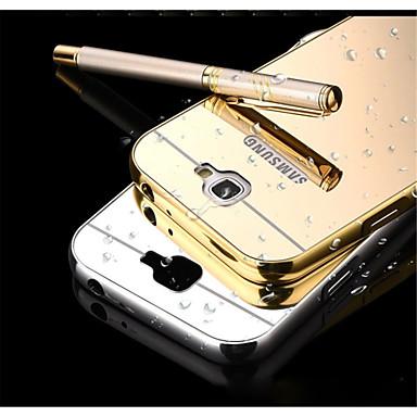 hoesje Voor Samsung Galaxy Samsung Galaxy Note Spiegel Achterkant Effen Kleur Metaal voor Note 5 Note 4 Note 3 Note 2