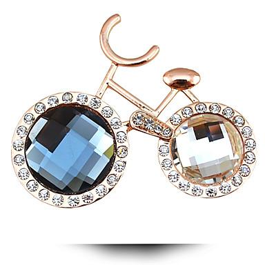 Dames Kristal Legering Paars Blauw Regenboog Modieus Sieraden Bruiloft Feest Dagelijks Causaal Kostuum juwelen