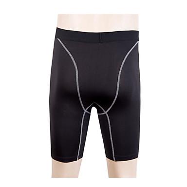 Homens Shorts de Corrida Short de Compressão de Corrida Secagem Rápida Permeável á Humidade Respirável Redutor de Suor Shorts Calças