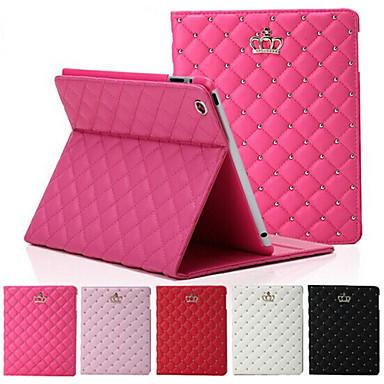 hoesje Voor iPad Mini 3/2/1 met standaard Automatisch aan / uit Volledig hoesje Geometrisch patroon PU-nahka voor iPad Mini 3/2/1
