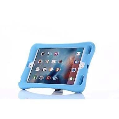 غطاء من أجل Apple ضد الصدمات / مع حامل غطاء كامل للجسم لون سادة TPU إلى iPad Mini 4