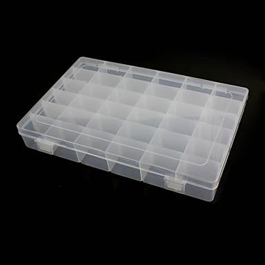 36 compartimenten vrije combinatie plastic opbergdoos