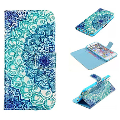 design especial caso fólio novidade pu couro desenho ou padrão coldre para 6s iphone 6 mais / iphone colorido mais