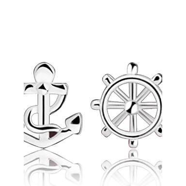 Dames Oorknopjes - Sterling zilver, Zilver Anker Zilver Voor Bruiloft / Feest / Dagelijks