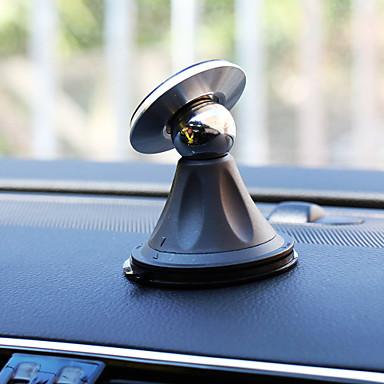 Automatisch Universeel Mobiele telefoon bevestiging standaard houder 360° rotatie Magnetisch Universeel Mobiele telefoon Muovi Metaal