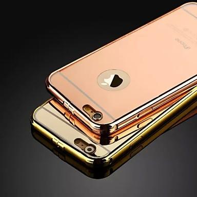 de nieuwe luxe roestvrij stalen gesp metalen frame backplane telefoon Case voor iPhone 5 / 5s (diverse kleuren)