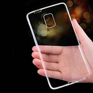케이스 제품 Samsung Galaxy Samsung Galaxy Note 울트라 씬 투명 뒷면 커버 한 색상 TPU 용 Note 5 Note 4 Note 3