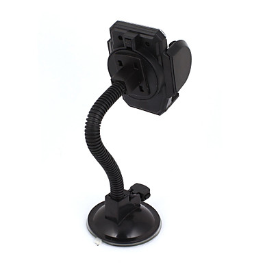 Black Suction Base Flexible Neck Windshield Mount Holder for Cell Phone GPS