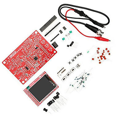 dso138 diy kit de osciloscópio digital kit de aprendizagem eletrônica para arduino