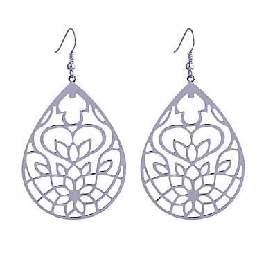 Dames Druppel oorbellen - Hol Eenvoudige Stijl Zilver Gouden oorbellen Voor Feest Dagelijks Causaal