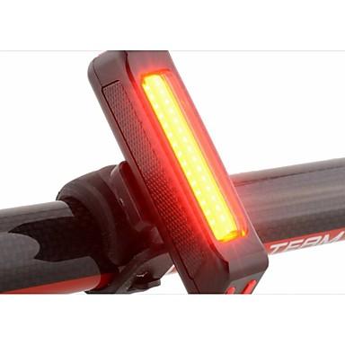 Luz Traseira Para Bicicleta Luzes da cauda LED - Ciclismo Impermeável Fácil de Transportar Atenção Durável Luz LED Outro 100 Lumens USB