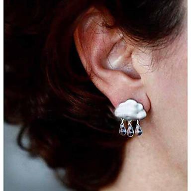 여성용 드랍 귀걸이 - 크리스탈 유럽의, 미니멀 스타일 실버 / 골든 제품 파티 / 일상 / 캐쥬얼