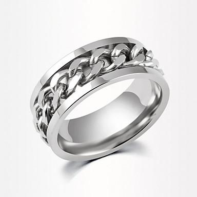 Homens Feminino Casal Anéis de Casal bijuterias Liga Jóias Para Diário Casual