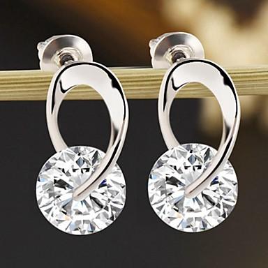 Dames Druppel oorbellen - Modieus Zilver oorbellen Voor Dagelijks