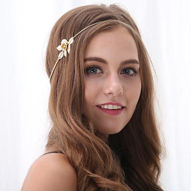 Dames Elegant Bloem Legering Haarband -