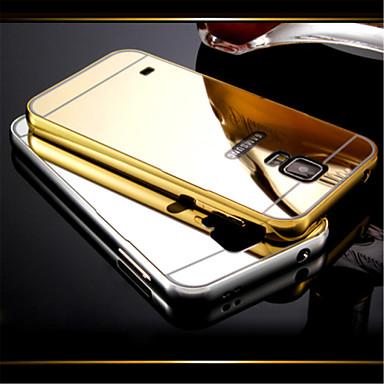 Capinha Para Samsung Galaxy Samsung Galaxy Capinhas Galvanizado Espelho Capa traseira Côr Sólida PC para S5