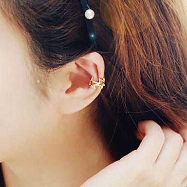 Dames Ster Clip oorbellen - Zilver Gouden Goud / Roze Ster oorbellen Voor Bruiloft Feest Dagelijks Causaal
