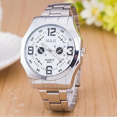 Dames Modieus horloge Kwarts Vrijetijdshorloge Zwitsers Designer Legering Band Zilver