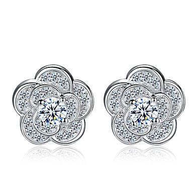 Heren Dames Sterling zilver Oorknopjes - Sterling zilver Voor Bruiloft Feest Dagelijks
