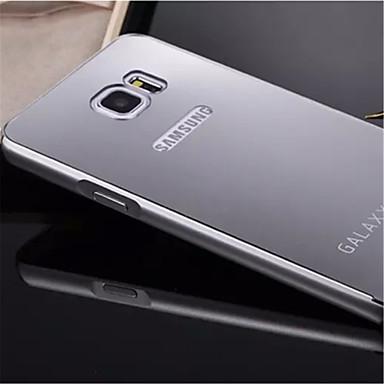 Voor Samsung Galaxy Note Beplating / Spiegel hoesje Achterkantje hoesje Effen kleur Metaal Samsung Note 5 Edge / Note 5 / Note 4 / Note 3