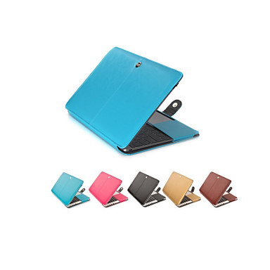 Moda PU laptop de couro da tampa do caso para MacBook Air 11
