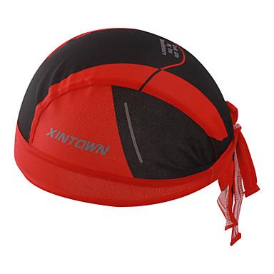 XINTOWN crâne Caps Visière Rouge Vert Hiver Respirable Séchage rapide Résistant aux ultraviolets Camping / Randonnée Pêche Escalade Unisexe Mosaïque Mode 100 % Polyester / VTT Vélo tout terrain
