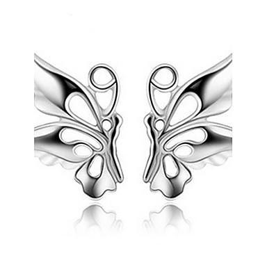 Dames Oorknopjes Kostuum juwelen Parel Legering Dierenvorm Vlinder Sieraden Voor