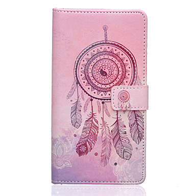 Voor LG hoesje Hoesje cover Kaarthouder Portemonnee met standaard Flip Patroon hoesje Dromenvanger Hard voor LG