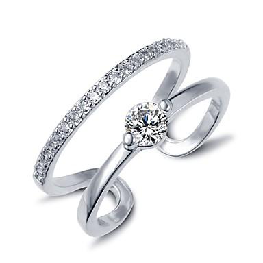 Dames Statementringen Verstelbaar Kostuum juwelen Zirkonia Sieraden Voor Bruiloft Feest Dagelijks Causaal