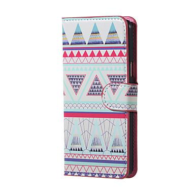 Para Samsung Galaxy Capinhas Case Tampa Com Suporte Flip Corpo Inteiro Capinha Estampa Geométrica Couro Ecológico para Samsung J5 (2016)