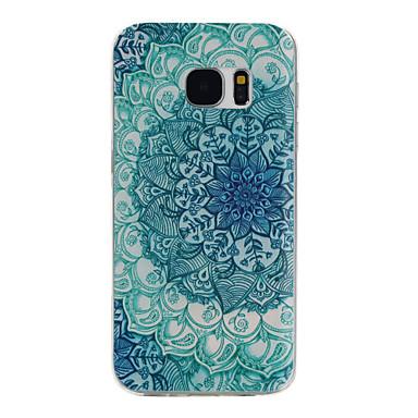 Mert Samsung Galaxy S7 Edge Minta Case Hátlap Case Mandala TPU Samsung S7 edge / S7